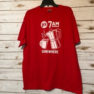 Other - Men's Red Graphic T-shirt